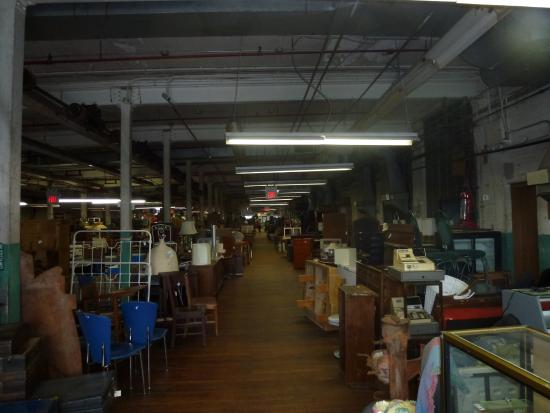 One of a Kind Antique Mall: Interior view of mall