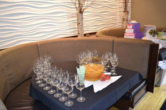 Bistro 19: Peach Bellini Punch - Bridal Shower Special Event