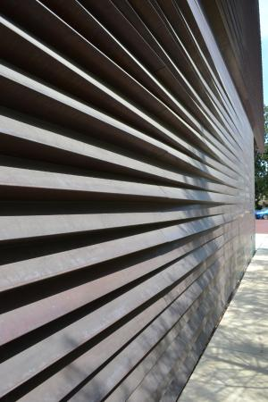 Louisiana Sports Hall of Fame and Northwest Louisiana History Museum: copper skin