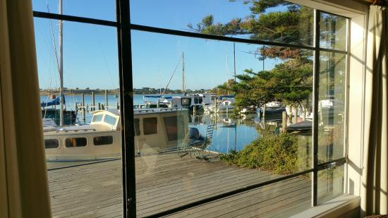 Birks Harbour - Boathouse & Birks River Retreats: The view from the living area