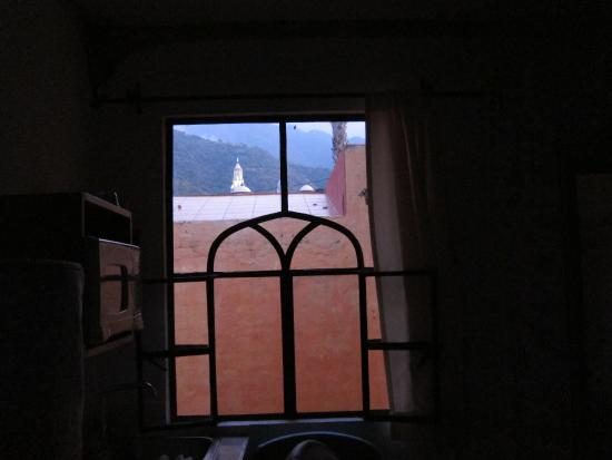 Hotel Casa Blanca: View from our window at the back