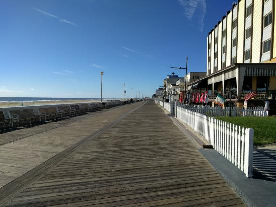The Commander Hotel: View from boardwalk
