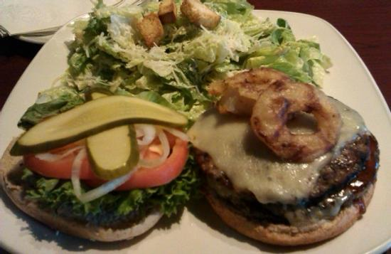 Kelly O'Bryans Neighbourhood Restaurant: guiness burger