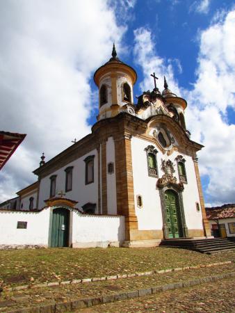 Our Lady of Carmo Church: Cartão postal de Mariana