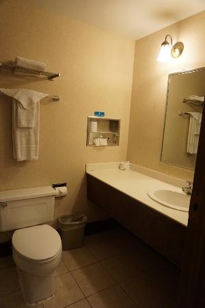 Magnuson Hotel Dixon : Magnuson - bathroom