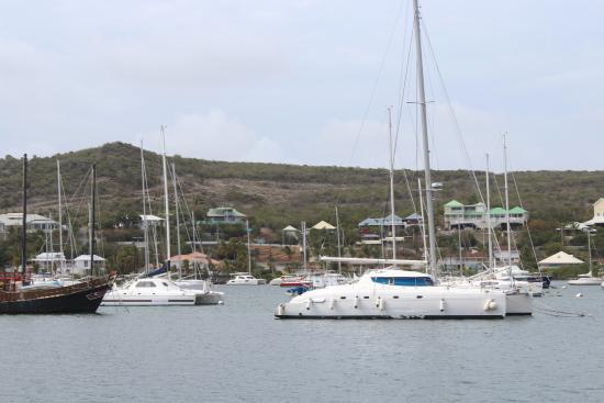 Oyster Pond, St-Martin/St Maarten: MARINA