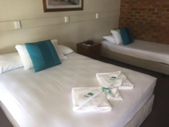 Acacia Motor Inn: Twin Room