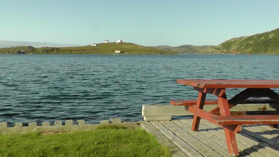 Whaling Station Cabins: Terrasse des Cabins