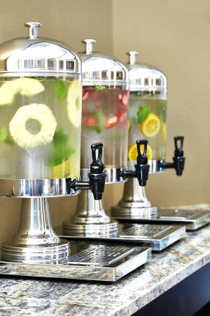 Homewood Suites by Hilton Lincolnshire: Lobby and Meeting Water Station