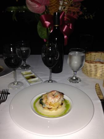 Rhodes Restaurant at Calabash: Shrimp tartlette