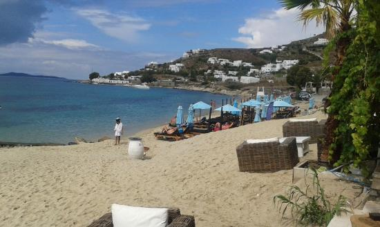 Manoulas Mykonos Beach Resort Praia