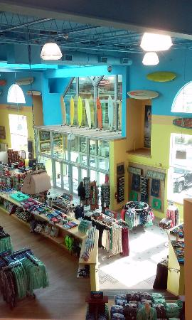 Ship Bottom, Nueva Jersey: taken from the third level in the store