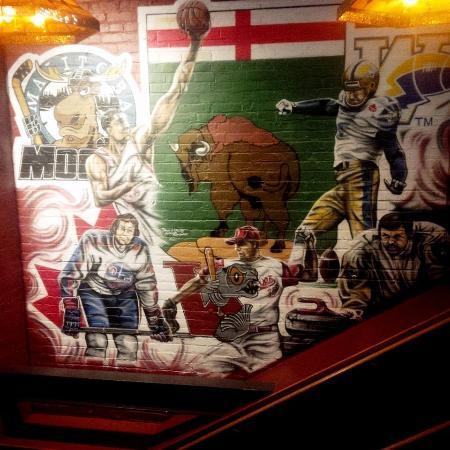 Tavern United MTS Centre: Manitoba Mural