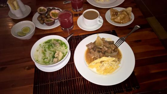 White Sand Doclet Resort & Spa: Еда в отеле. Завтрак2