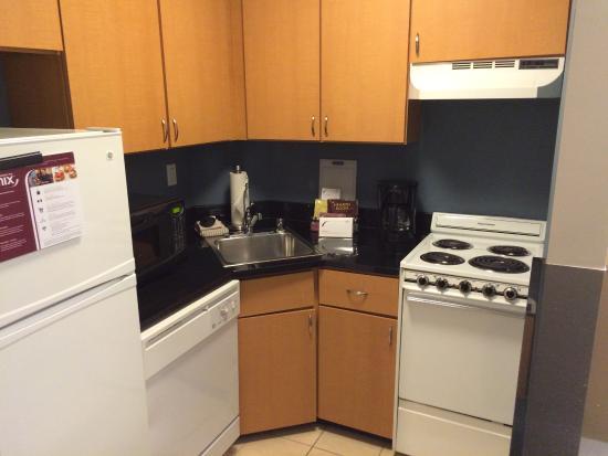 Residence Inn Bethesda Downtown: kit