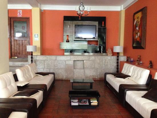 Santuario Hotel: Sitting room