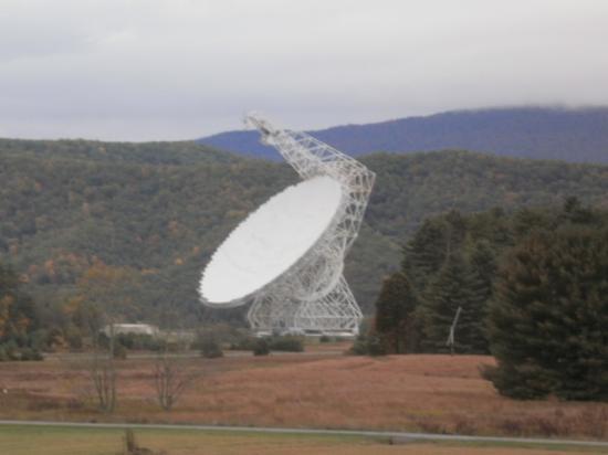 Green Bank, Virginia Occidental: telescope