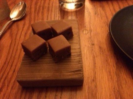 Dessert ... Peanut butter bar - Picture of Avec, Chicago ...
