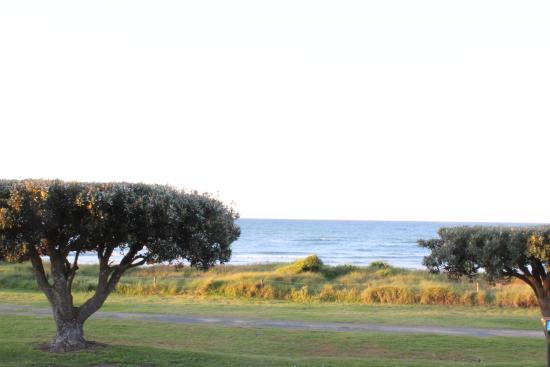 Ohope Beach TOP 10 Holiday Park: View from our unit