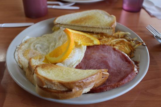 Hanksville, Utah: Ham and Eggs
