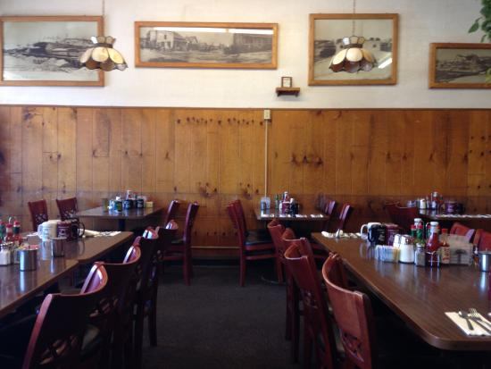 Coffee Restaurant Railroad History Surrounds You At