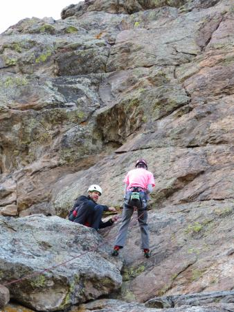 Colorado Mountain School: Multi level climb