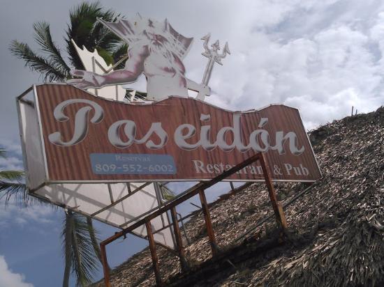Poseidon restaurant: name of the restaurant