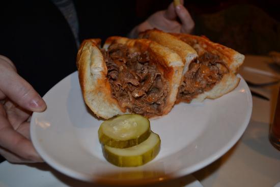 Upper Darby, Pensilvania: ?Pizza Steak Sandwich