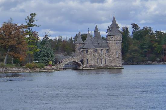 Thousand Islands: Boldt Castle.