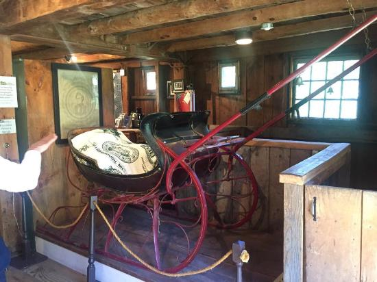 Hillsborough, Nueva Hampshire: Franklin Pierce's sled