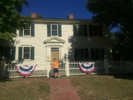 Hillsborough, Nueva Hampshire: Franklin Pierce house