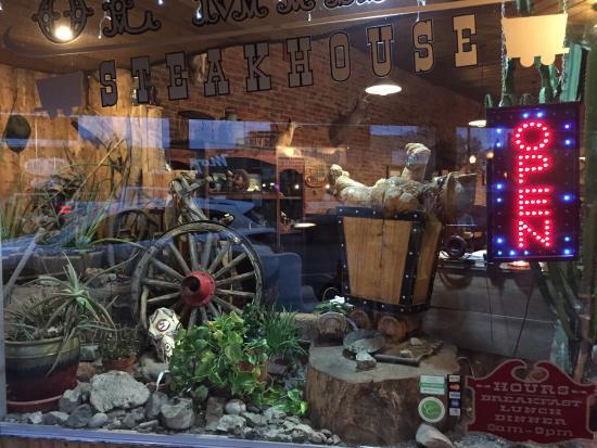 Ol Miner Steakhouse Entrance is very cute & Love the doors! - Picture of Ol Miner Steakhouse Gunnison - TripAdvisor