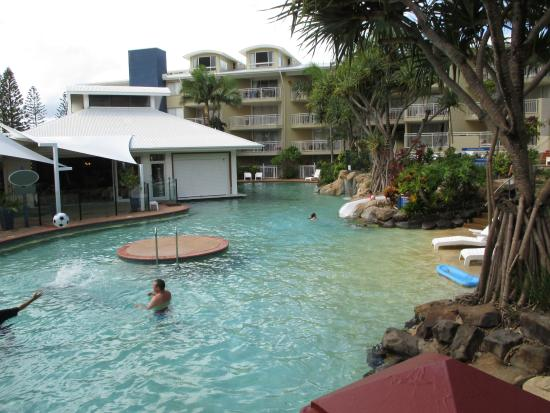 Breakfree Alexandra Beach Premier Resort: Southern lower pool area