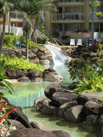 Breakfree Alexandra Beach Premier Resort: Northern pool area
