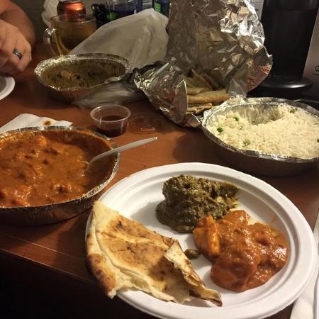 Shandhar Hut: Take out dinner from Sandhar Hut