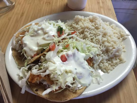 Fish tacos picture of california fish grill irvine for California fish tacos