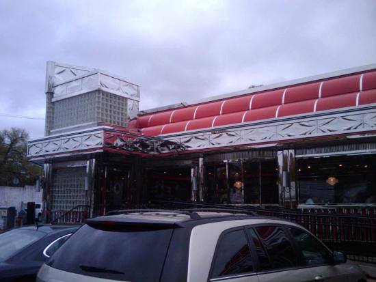 Blackwood, NJ: exterior of the Meadows Diner
