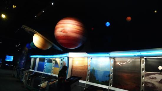 Clark Planetarium: The planets
