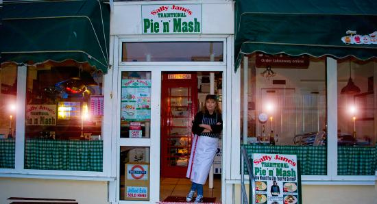 Sally Jane's Pie'n'Mash