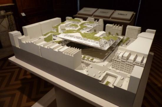 D Model Of Exhibition : Global citizen architecture of moshe safdie exhibition