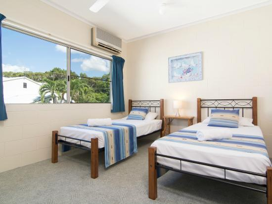 Titree Resort Holiday Apartments : Second bedroom standard Apartment