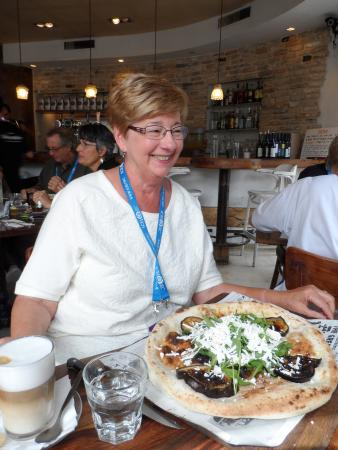 Karma israel: what we thought we be appetizer size order of foccocia bread!