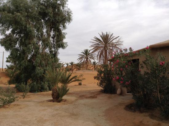 Hotel Ksar Merzouga: L'esterno delle capanne