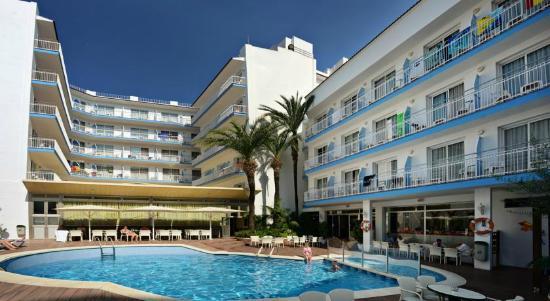 Miami Hotel: fachada piscina
