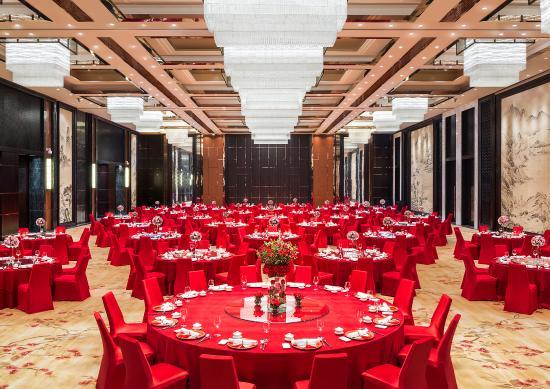Sheraton Zhuhai Hotel Chinese Wedding Set Up