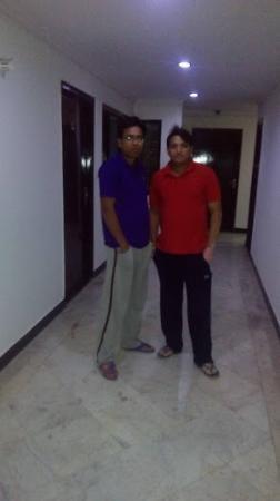 Hotel Daawat Palace: Corridor