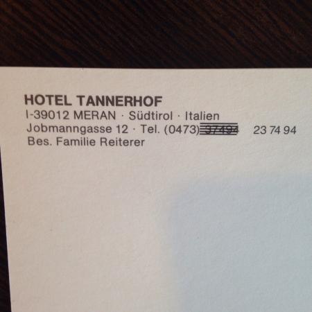 Hotel Garni Tannerhof: photo3.jpg
