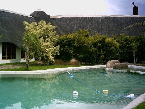 Out of Africa Town Lodge: The swimmingpool at the Lodge