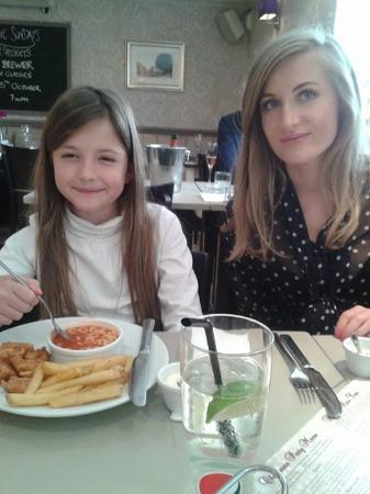 Abridge, UK: Yummy lunch!