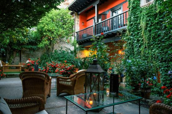 Hotel Casa del Marques: Terraza